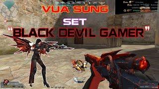 Vua Súng - Full Set Black Devil Gamer - Truy Kích Showbiz