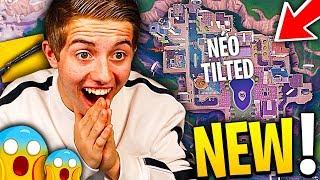 JE DÉCOUVRE LA NOUVELLE MAP FUTURISTE SUR FORTNITE !!! (Néo Tilted, Mega Mall...)