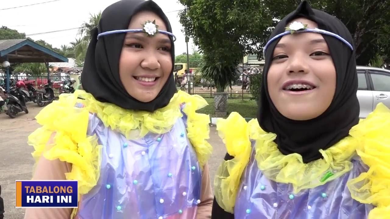 Karnaval Pakaian Dari Barang Bekas Meriahkan Hut Smanduta