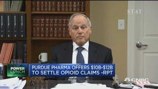 Purdue Pharma's potential $10B-$12B opioid settlement
