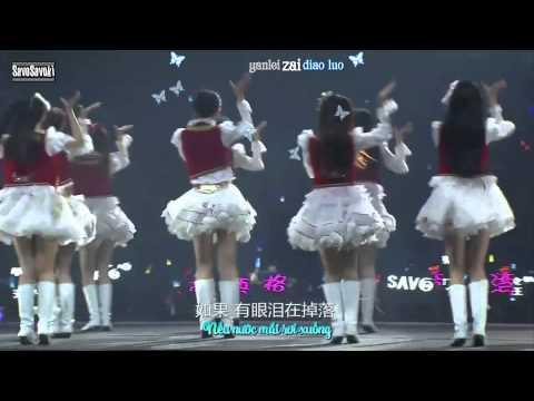 [Vietsub + Kara] Give Me Five! (青春的约定) - SNH48 - 2nd General Election