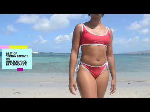 String Bikini 2019 Tendance Beachwear 2020 Trends Models