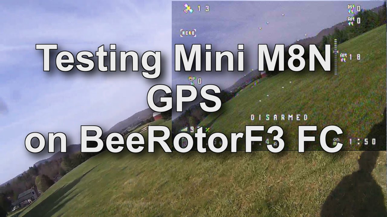 Beerotor Airplane Setup With Cleanflight Part 71 Micro M8n Gps Naze32 Minimosd Wiring Diagram Flight Testing Youtube
