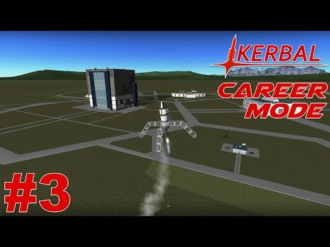KSP - Career Mode Episode #3 - Getting Easy Science