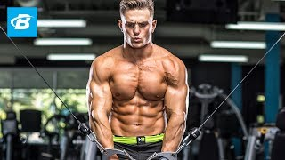 "Total Chest Burnout Workout for Muscle Growth | Ant ""Gainz\"" LaVigne - WNBF Natural Pro Bodybuilder"