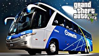 Video GTA 5: Mod Bus - Ônibus Cometa passageiros irritados download MP3, 3GP, MP4, WEBM, AVI, FLV Januari 2018