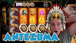 BIG WIN!!!! Montezuma - Casino Games - Bonus Round (Casino Slots)