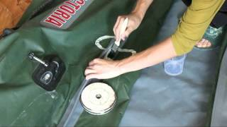 Ремонт гребной лодки пвх(, 2014-07-29T12:14:57.000Z)