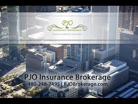General Liability Insurance By PJO Brokerage | Phoenix, AZ & Orange County, CA