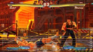 Street Fighter X Tekken PS Vita Frame-Rate Tests