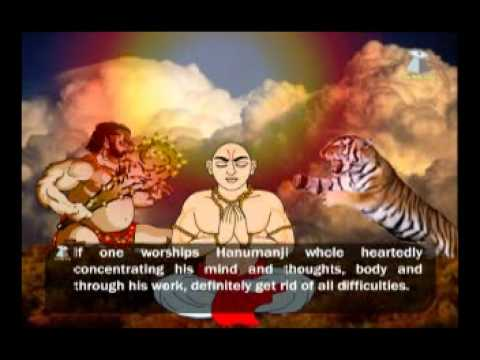 HANUMAN CHALISA - Audio and Video with story.