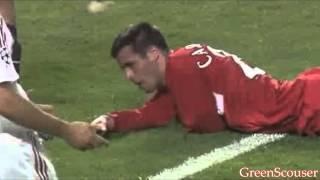 Jamie Carragher vs AC Milan, Champions League Final '05
