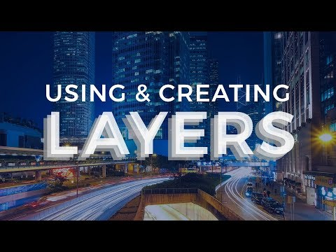 How To Create And Use Layers In Adobe Photoshop