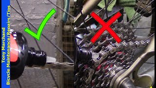 How to Lubricate Your Bicycle Chain: The right way and the wrong way