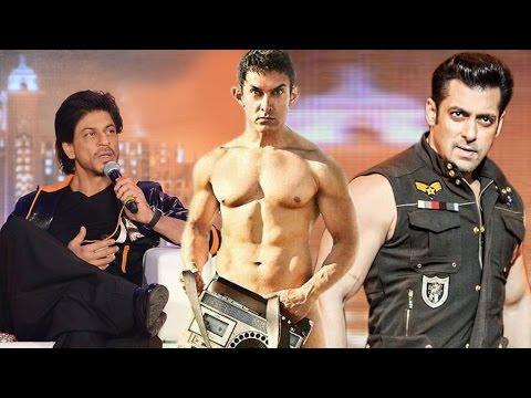 Shahrukh Khan WISHES LUCK for Salman Khan's KICK & Aamir Khan's PK