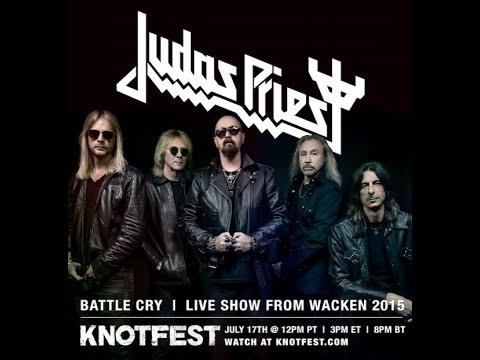 Knotfest to stream Judas Priest's concert Battle Cry from 2015 Wacken Fest..!