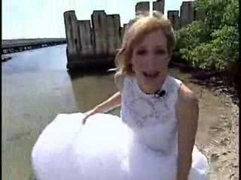 Trash Your Wedding Dress - YouTube