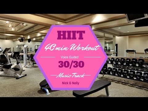 HIIT MUSIC TRACK – 3030, 40mins – PLUS VOICE PROMPTS