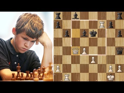 Brilliant Checkmate by 14-year Old Magnus Carlsen