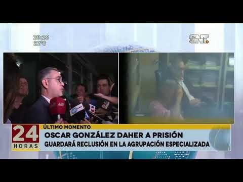 González Daher a prisión