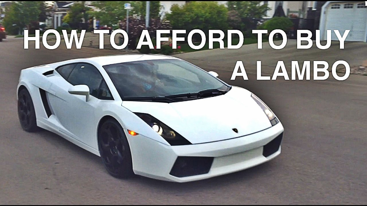 How To Buy And Sustain A Lamborghini Gallardo Youtube