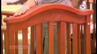 видео Купить Кроватка Верес Соня ЛД-3 маятник с ящиком ( орех) от производителя по лучшей цене в Киевской области от Интернет-магазина