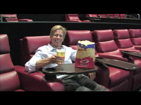 New Theater Experience - Luxury Seating & Great Food - Galaxy Theatres Owner Rafe Cohen Interview