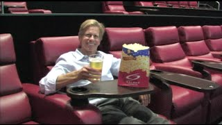 New Theater Experience - Luxury Seating & Great Food - Galaxy Theatres Owner Rafe Cohen Interview thumbnail