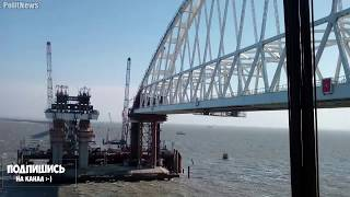 Керченский мост! Самые последние (02.10.2017) новости строительства моста!!!