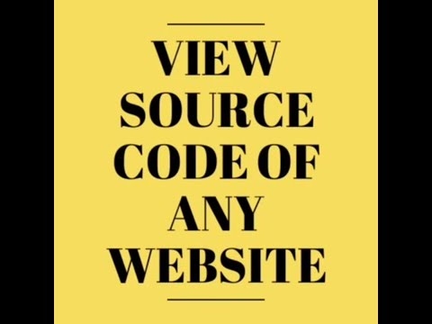 [Latest]Get Source Code Of Any Websites From Url! URL To HTML Code Converter.