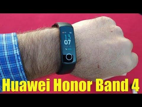 Huawei Honor Band 4 полный обзор / Как настроить?