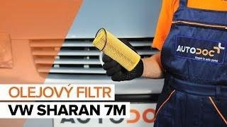 Jak vyměnit motorový olej a olejový filtr na VW SHARAN 7M [NÁVOD]