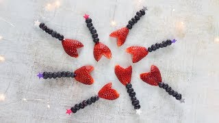 Easy Valentines Fruit Wands Recipe