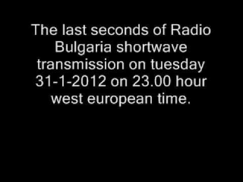 The last seconds of Radio Bulgaria 31-1-2012-23.00 hour on 7400 khz
