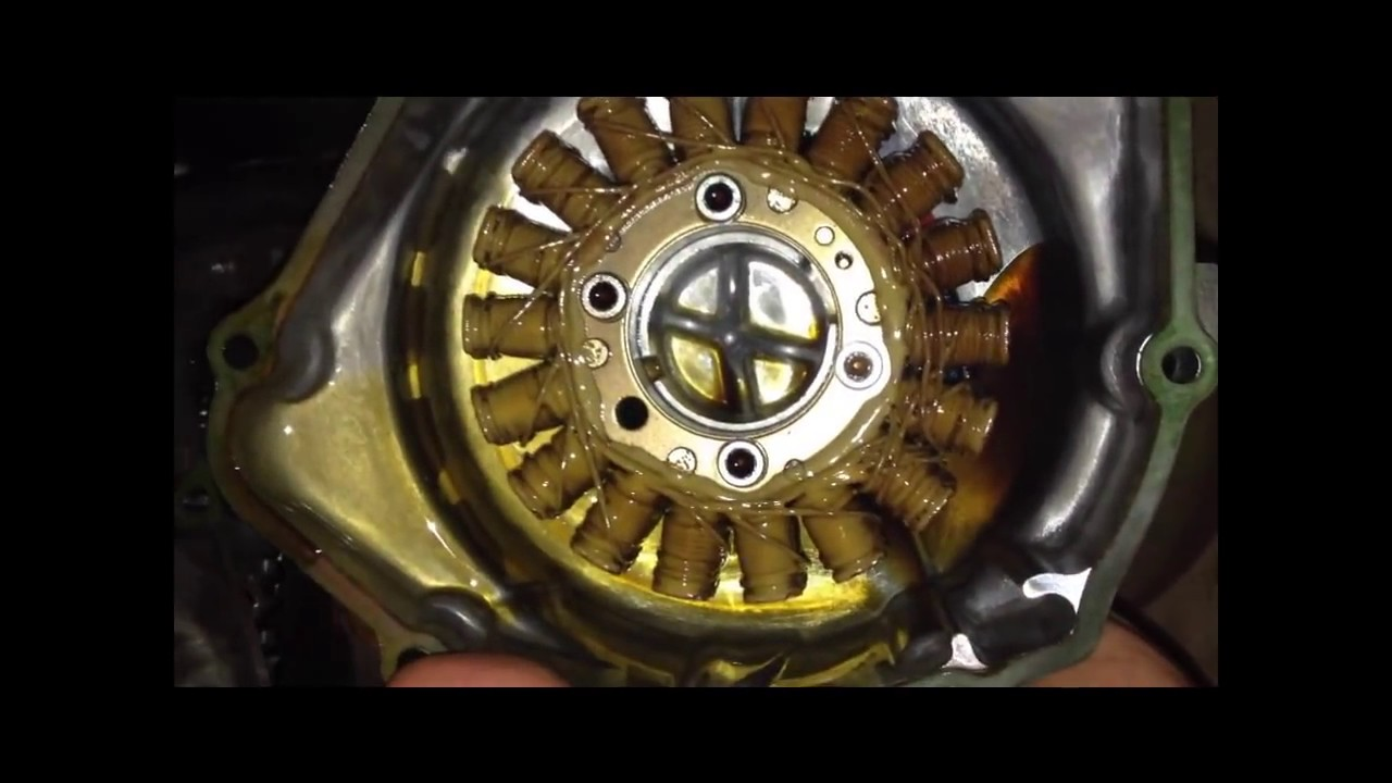 hight resolution of how to check your stator alternator on a honda cbr600 f3