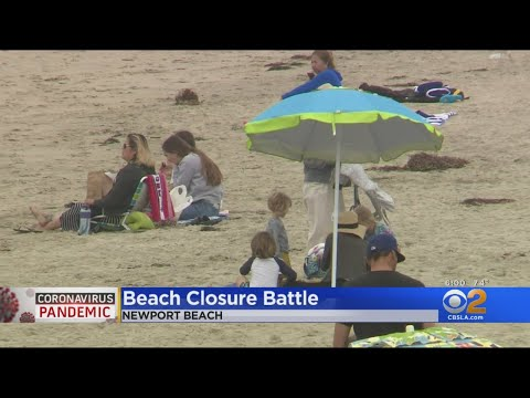 Newport Beach City Council Holds Emergency Meeting Following Gov. Newsom's Order To Close Orange Cou