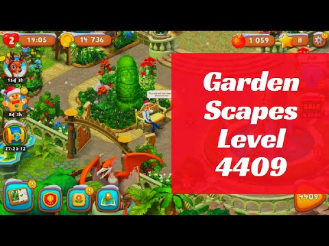 Gardenscapes Level 4409