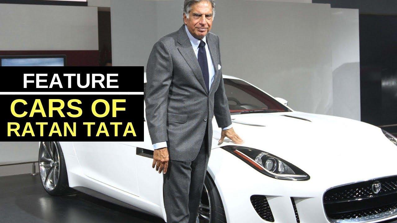 Into Ratan Tata S Personal Car Collection Ferrari California To Tata Nexon Honda Civic