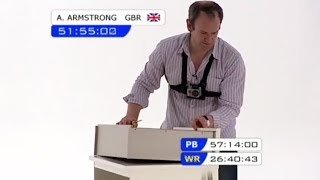 Alexander Armstrong Tackles Flat Pack Furniture - James May's Man Lab
