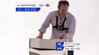 Alexander Armstrong Tackles Flat Pack Furniture - James May's Man Lab