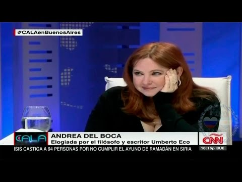 """ANDREA DEL BOCA - """"Cala en Buenos Aires"""" CNN en español (16/07/2015)"""