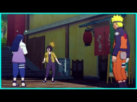 Hanabi Tests Naruto For Hinata  ❤️️- Naruto Shippuden Ultimate Ninja Storm 4 Game