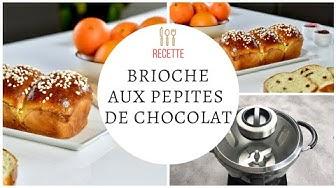 Brioche aux pépites de chocolat - Recette Cook Expert Magimix
