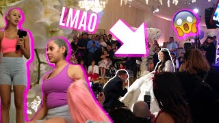 WE WENT TO KARINA GARCIA'S WEDDING AND THIS HAPPENED...