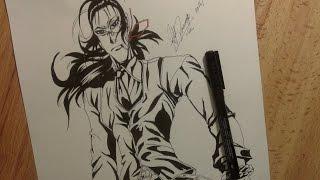 Drawing Walter From Hellsing.