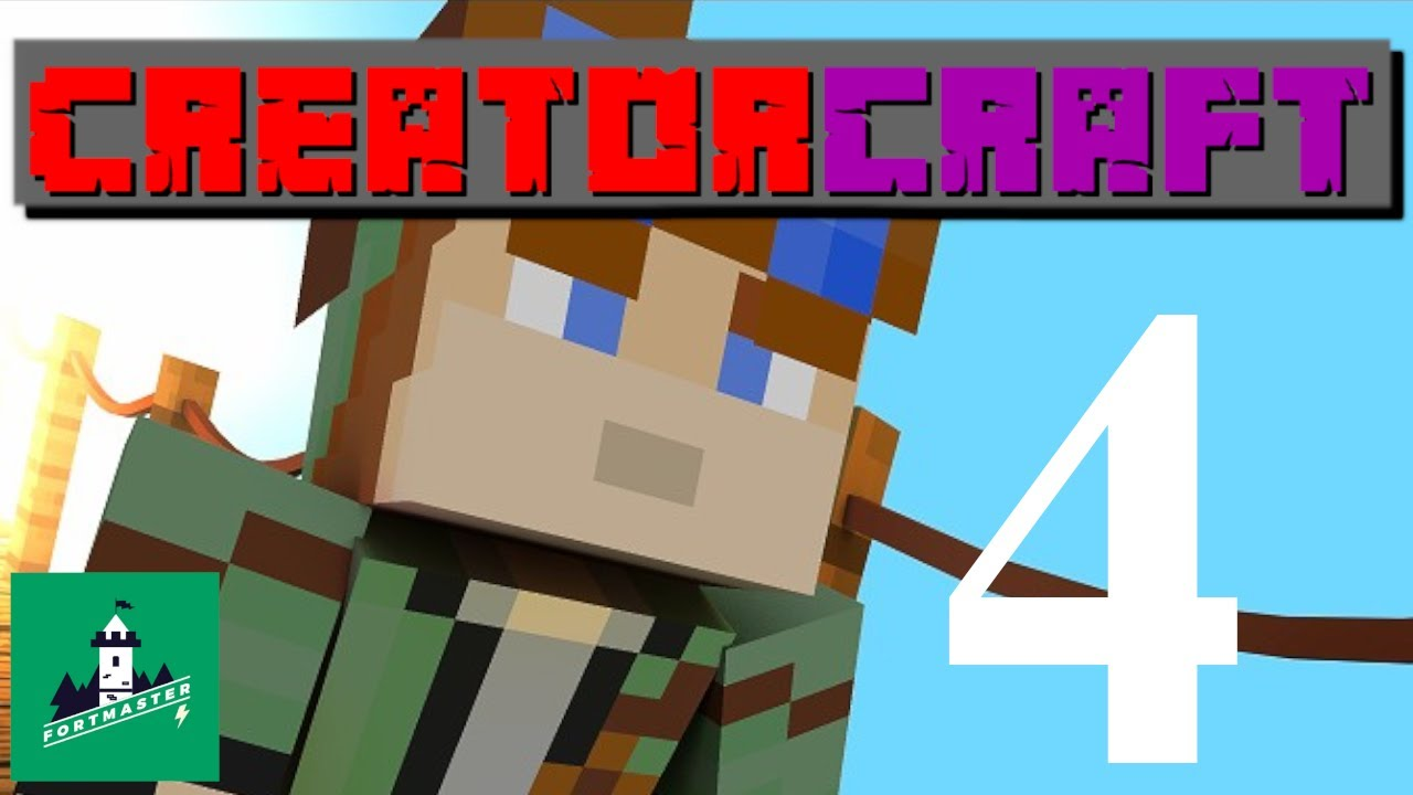 Minecraft – Creator Craft Ep. 4 Shut up!!! I'm trying to be nice to you!!!!