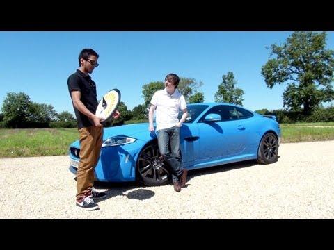 2012 Jaguar XKR-S & The Enemy's Tom Clarke