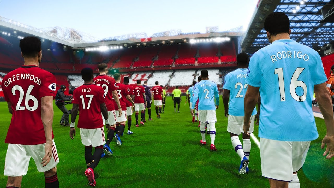 Manchester United vs Manchester City – EPL 8 March 2020 Gameplay