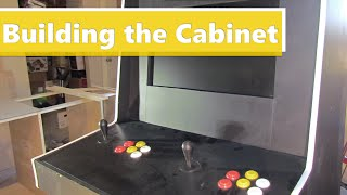 Making a Raspberry Pi Arcade Machine - Building the Cabinet