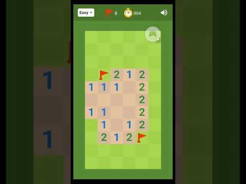 Google Minesweeper (Easy)